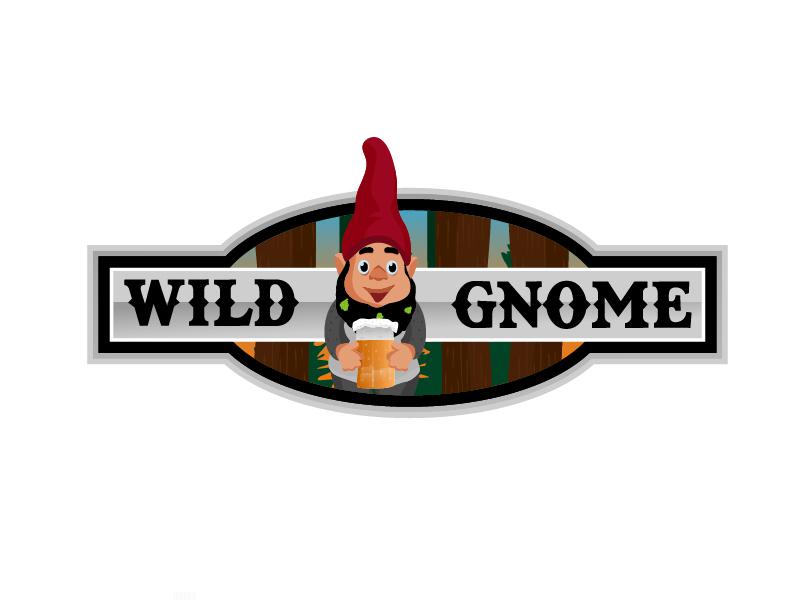 Wild Gnome logo design by Shailesh