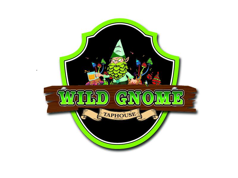 Wild Gnome logo design by Carli Yario Lindahl