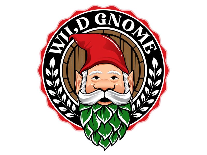 Wild Gnome logo design by DreamLogoDesign