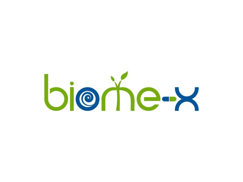 Biome X logo design by Bambhole