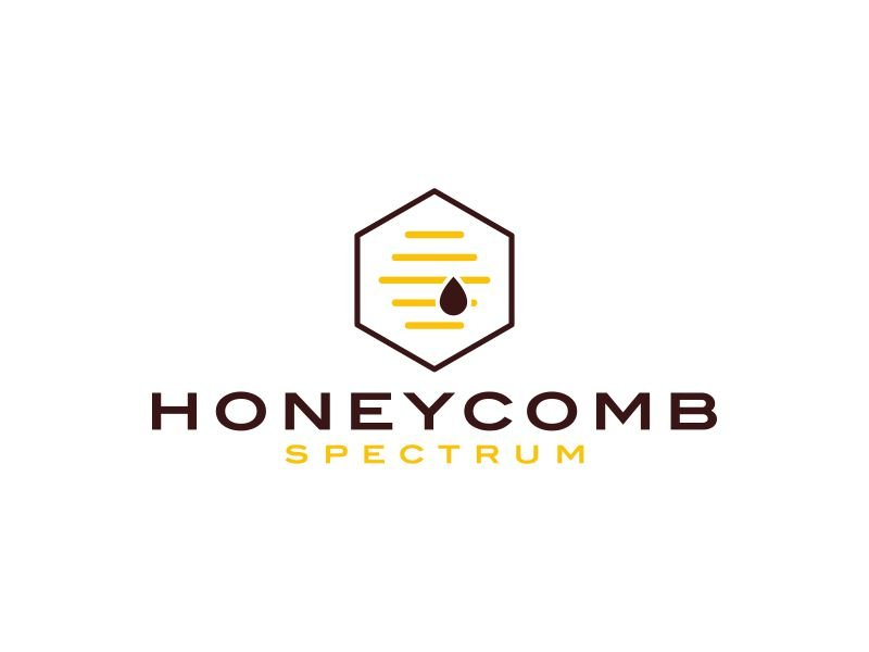 Honeycomb Spectrum logo design by Rossee