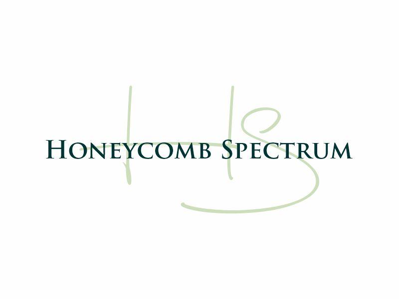 Honeycomb Spectrum logo design by Gwerth