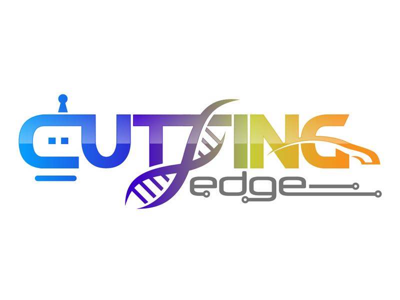 Cutting Edge logo design by DreamLogoDesign