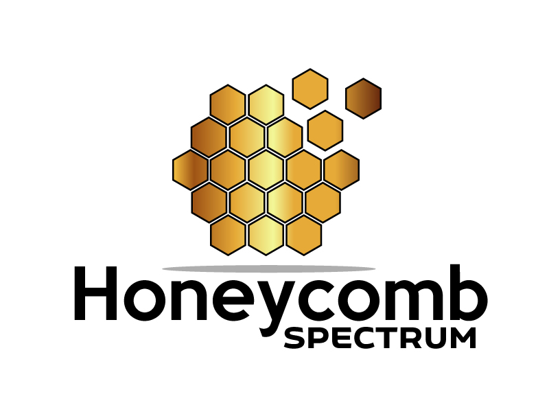 Honeycomb Spectrum logo design by ElonStark