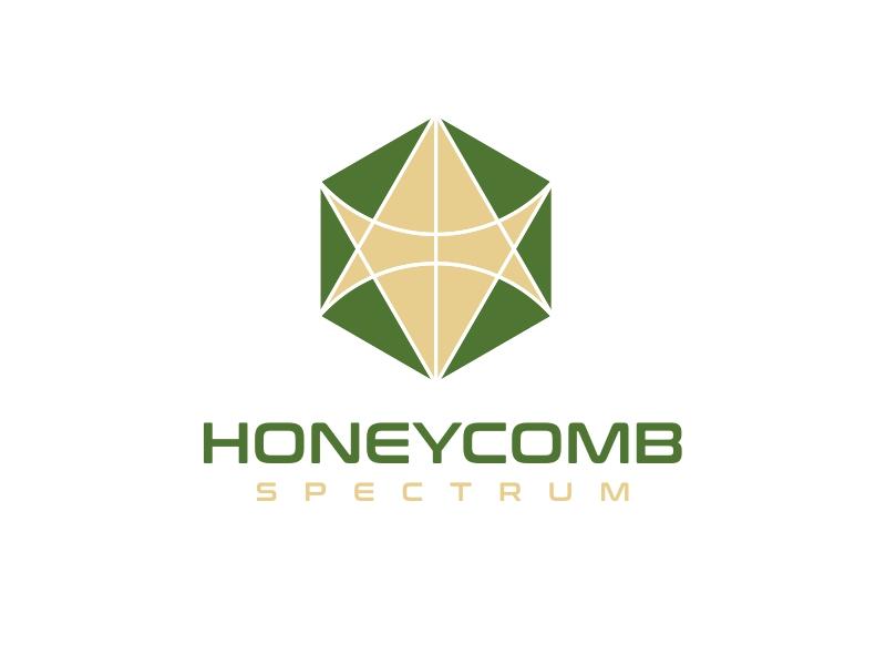 Honeycomb Spectrum logo design by b3no