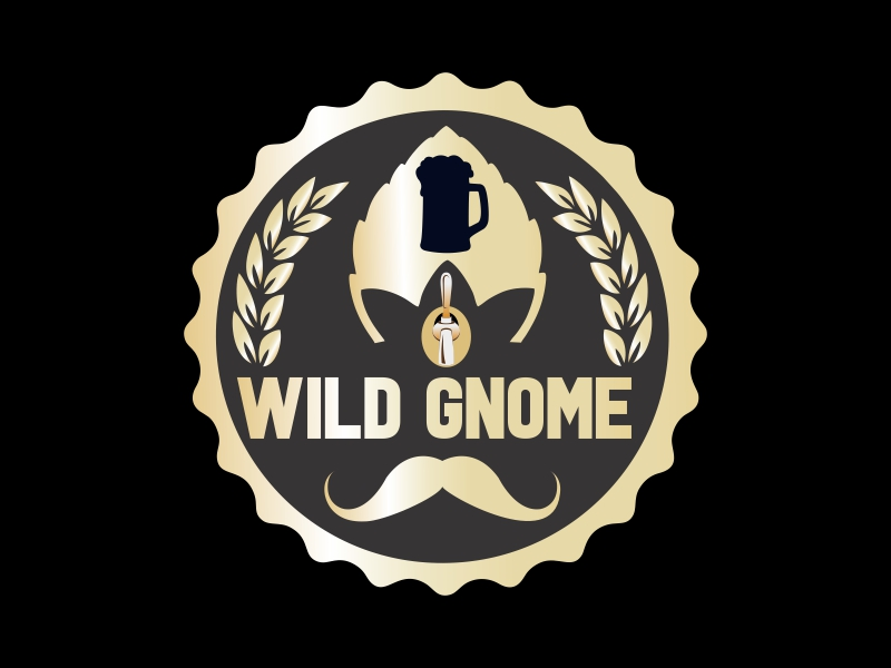 Wild Gnome logo design by Ravi Dhawan
