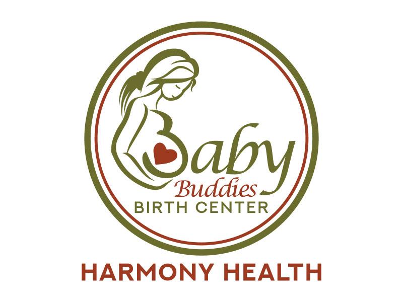 Baby Buddies Birth Center logo design by nona