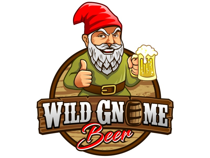 Wild Gnome logo design by haze