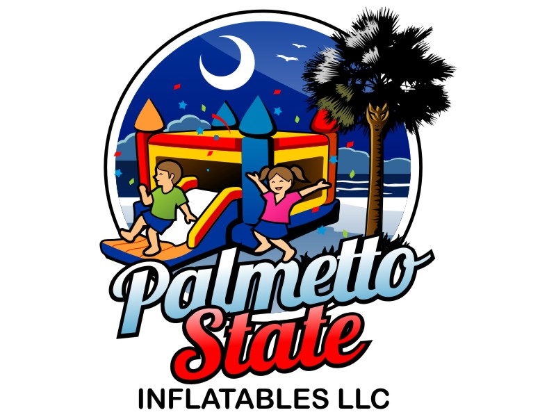 Palmetto State Inflatables LLC Logo Design