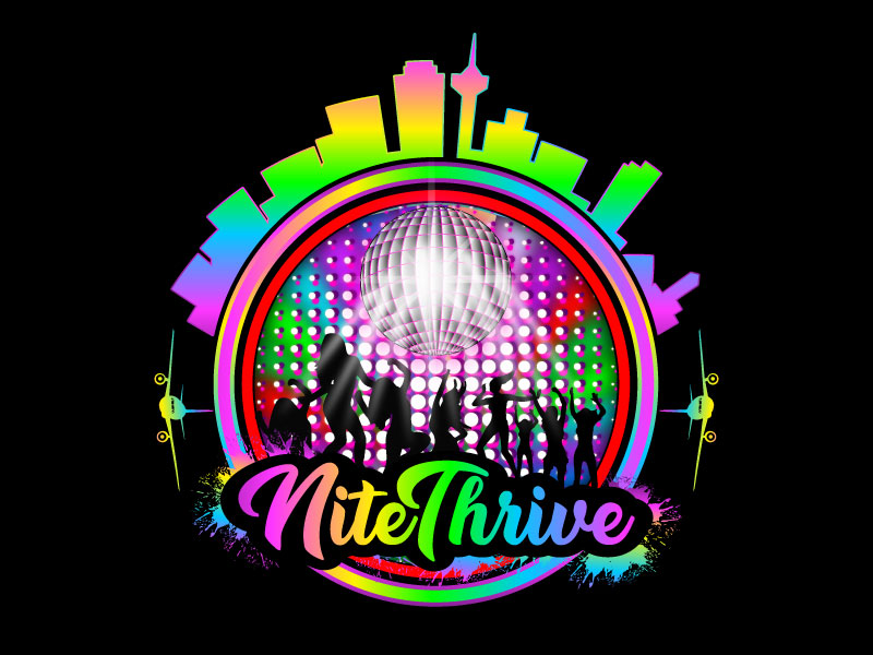 NiteThrive logo design by Suvendu