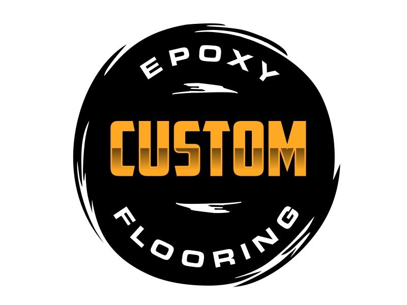 Custom Epoxy Flooring logo design by aura