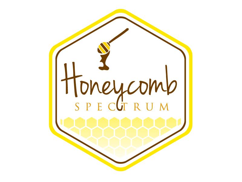 Honeycomb Spectrum logo design by REDCROW