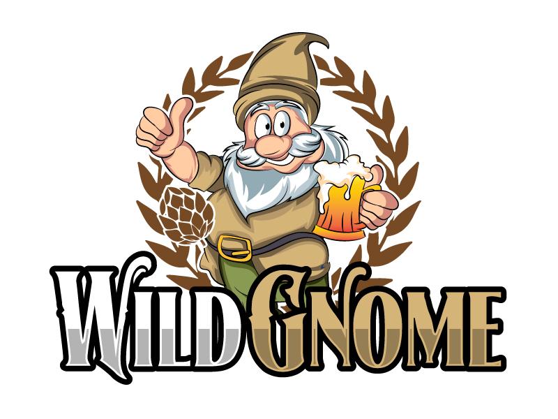 Wild Gnome logo design by ElonStark