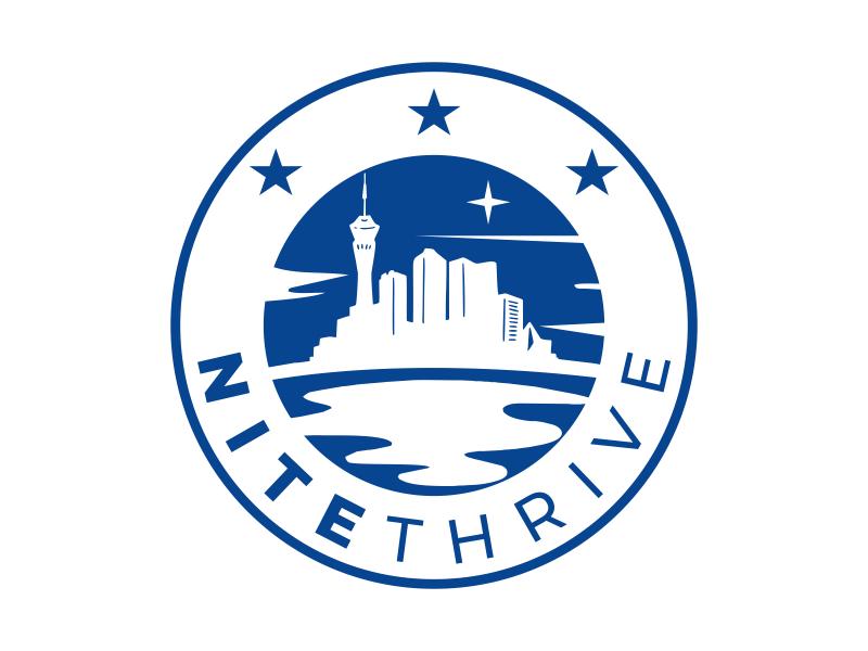 NiteThrive logo design by cikiyunn