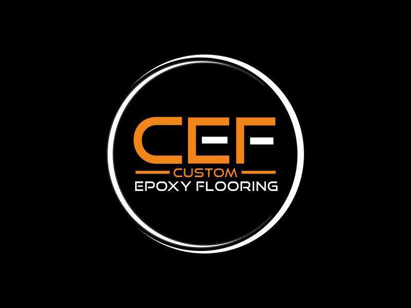 Custom Epoxy Flooring logo design by giphone