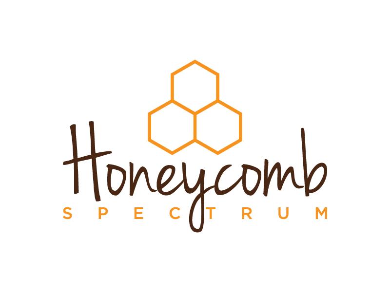 Honeycomb Spectrum logo design by denfransko