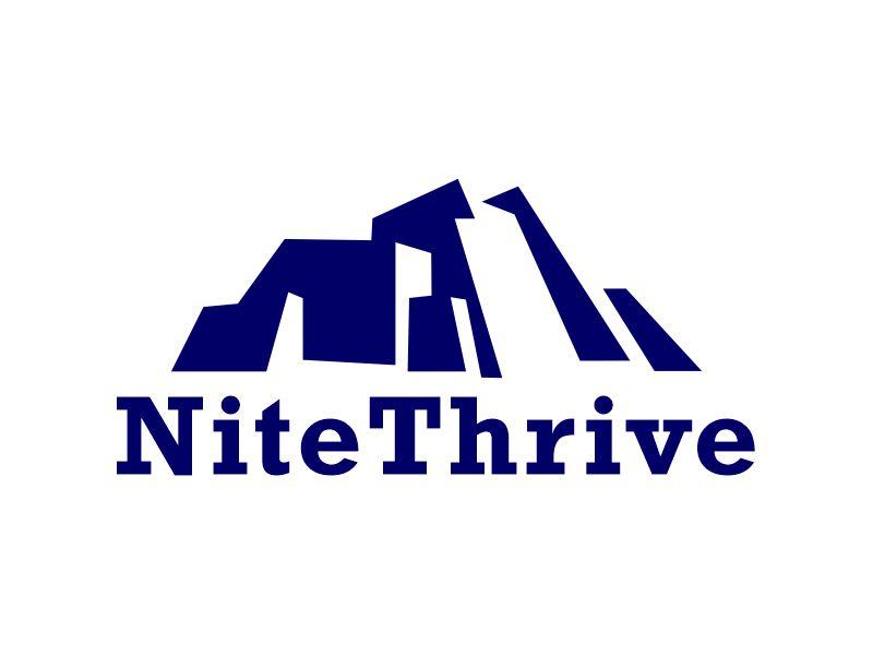 NiteThrive logo design by Gwerth