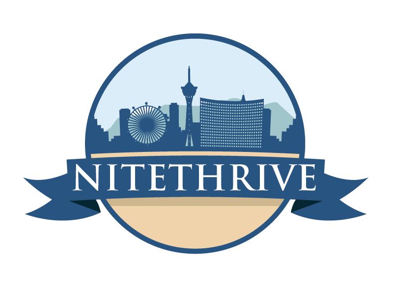 NiteThrive logo design by ElonStark