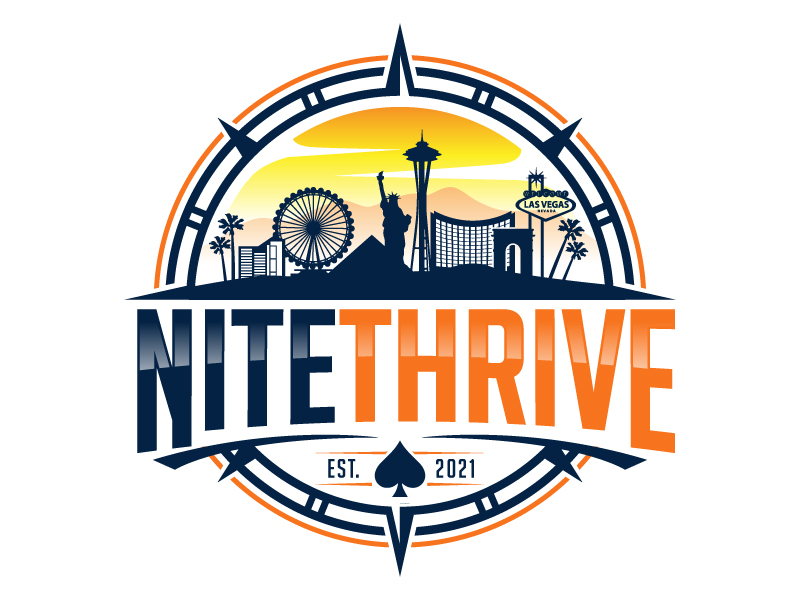 NiteThrive logo design by jaize