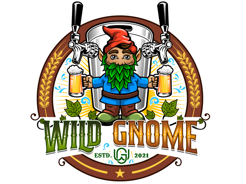 Wild Gnome logo design by Suvendu