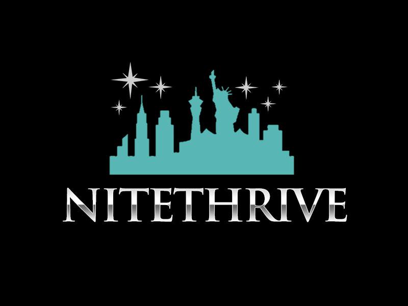 NiteThrive logo design by kunejo