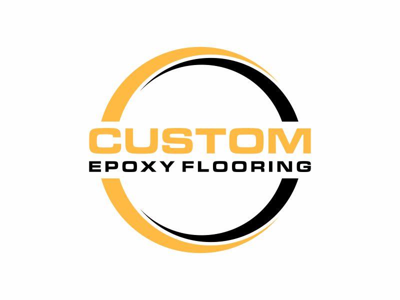 Custom Epoxy Flooring logo design by ora_creative