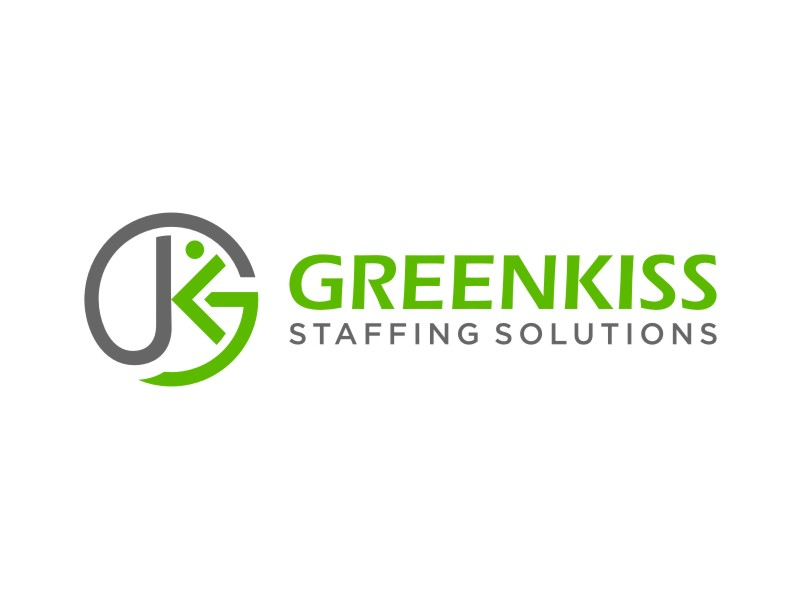 GreenKiss Staffing Solutions logo design by KQ5