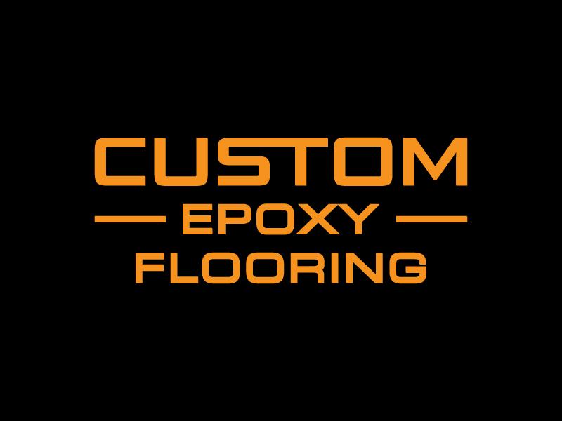 Custom Epoxy Flooring logo design by pencilhand