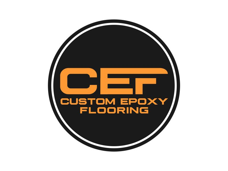 Custom Epoxy Flooring logo design by Dhieko