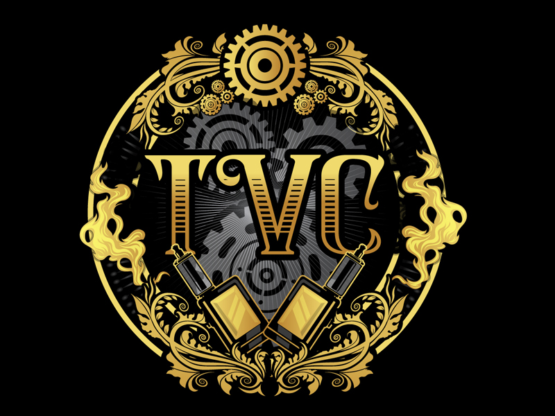 TVC logo design by DreamLogoDesign