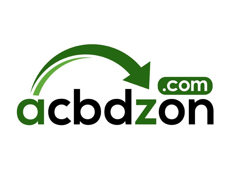 a cbd zon logo design by MAXR