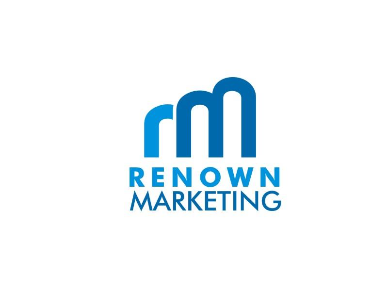 Renown Marketing logo design by artomoro