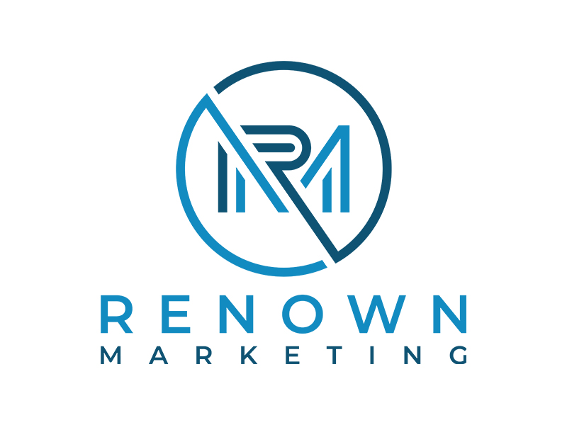 Renown Marketing logo design by planoLOGO
