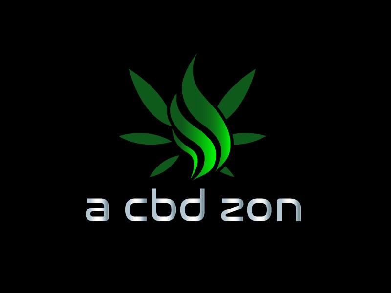 a cbd zon logo design by Marianne