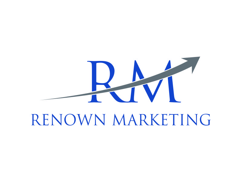 Renown Marketing logo design by giphone