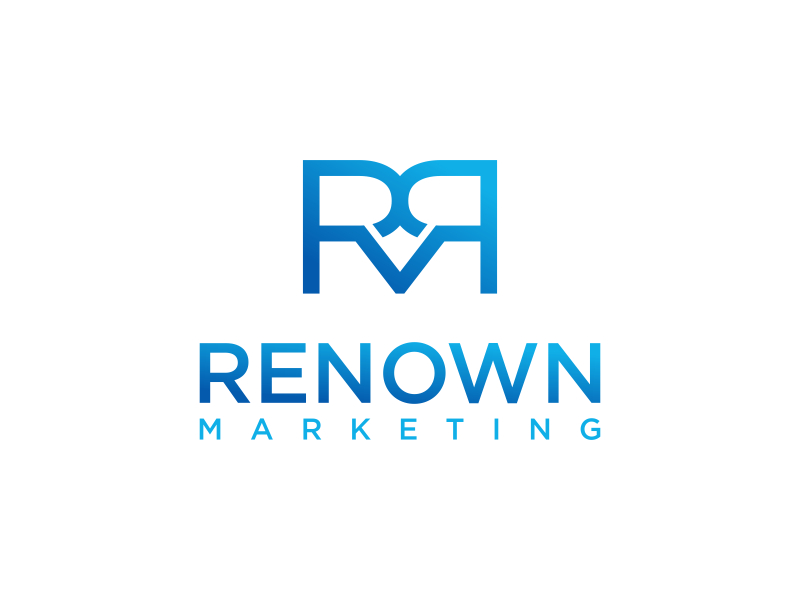 Renown Marketing logo design by pionsign