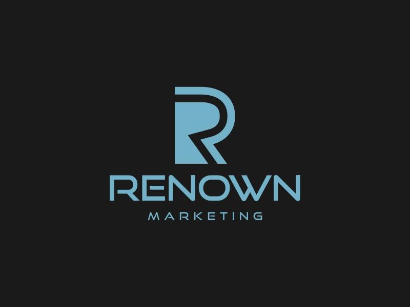 Renown Marketing logo design by vuunex