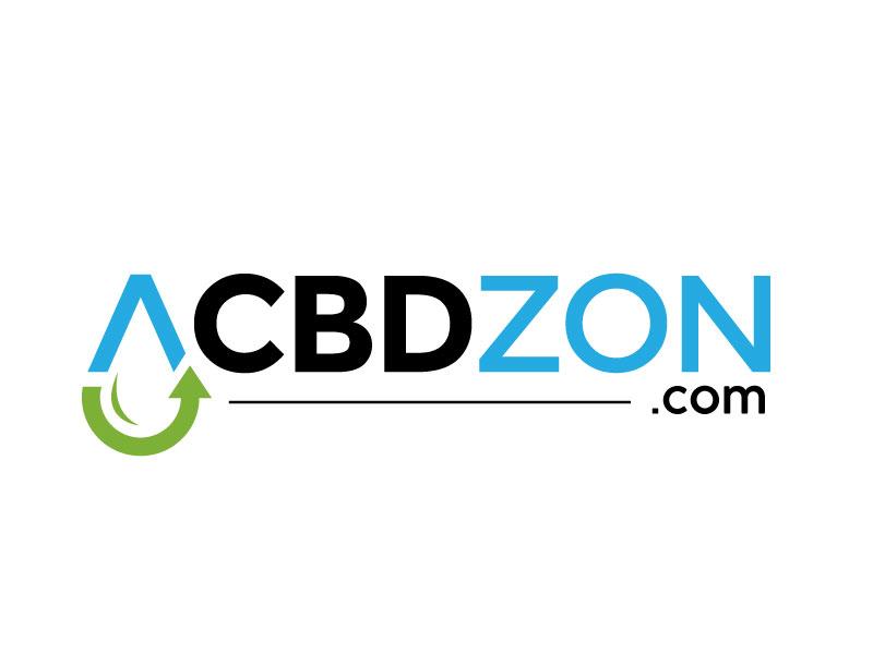 a cbd zon logo design by REDCROW