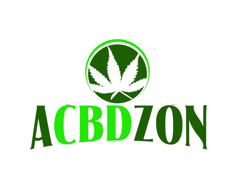 a cbd zon logo design by ElonStark