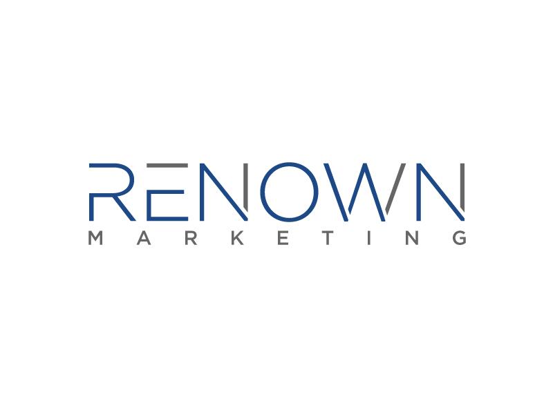 Renown Marketing logo design by Erasedink