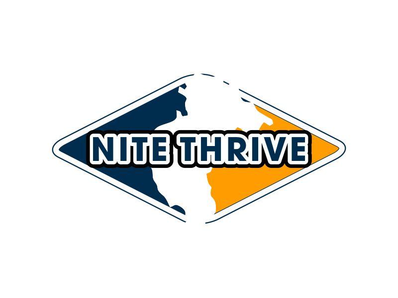 NiteThrive logo design by MUNAROH