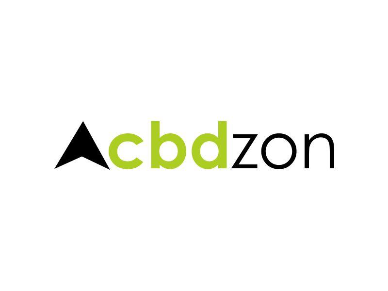 a cbd zon logo design by giphone