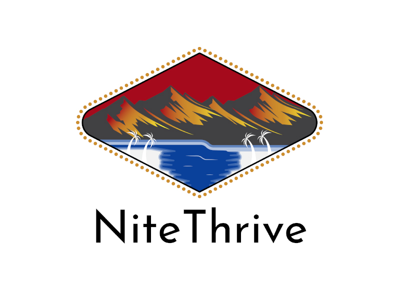 NiteThrive logo design by planoLOGO