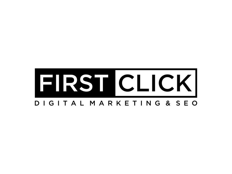 First Click Digital Marketing & SEO logo design by mukleyRx