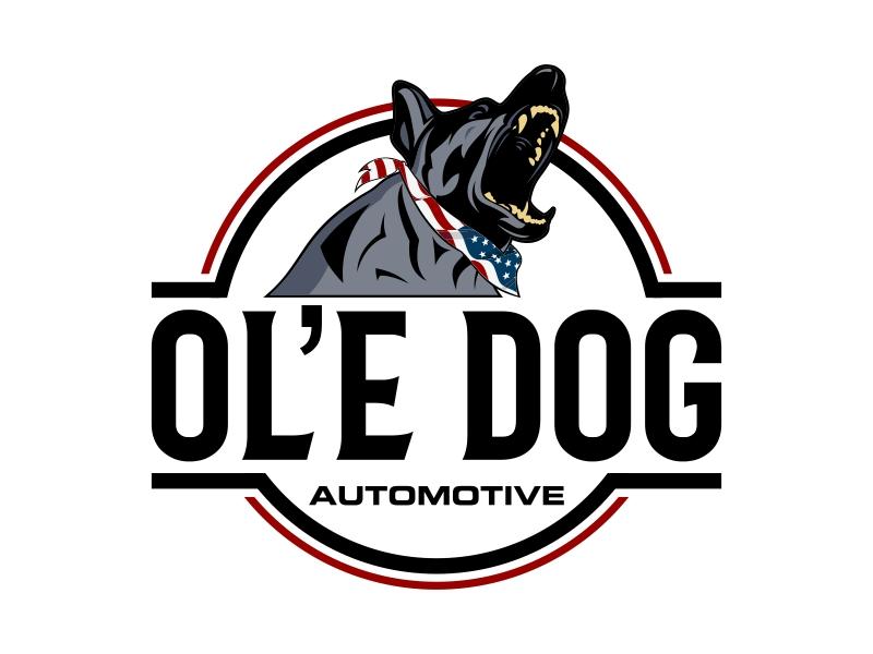 OL'E Dog Automotive logo design by Kruger