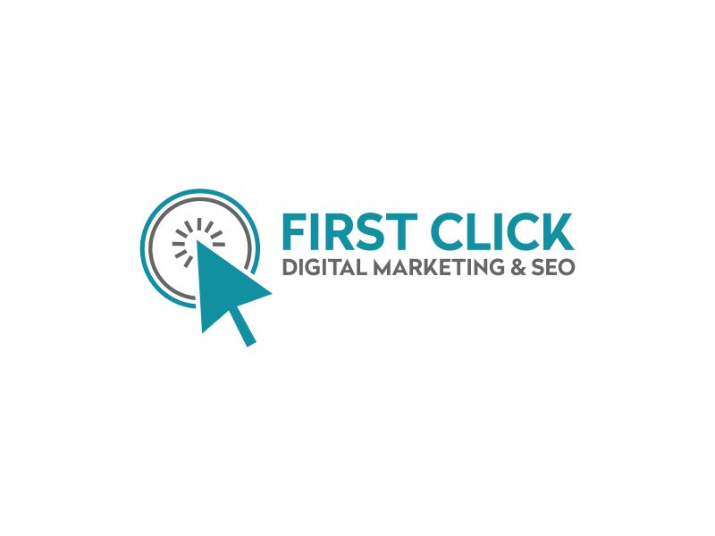 First Click Digital Marketing & SEO logo design by rian38