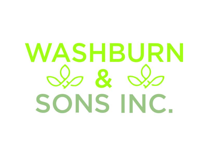 Washburn & Sons, Inc. logo design by BagasFerdiansah