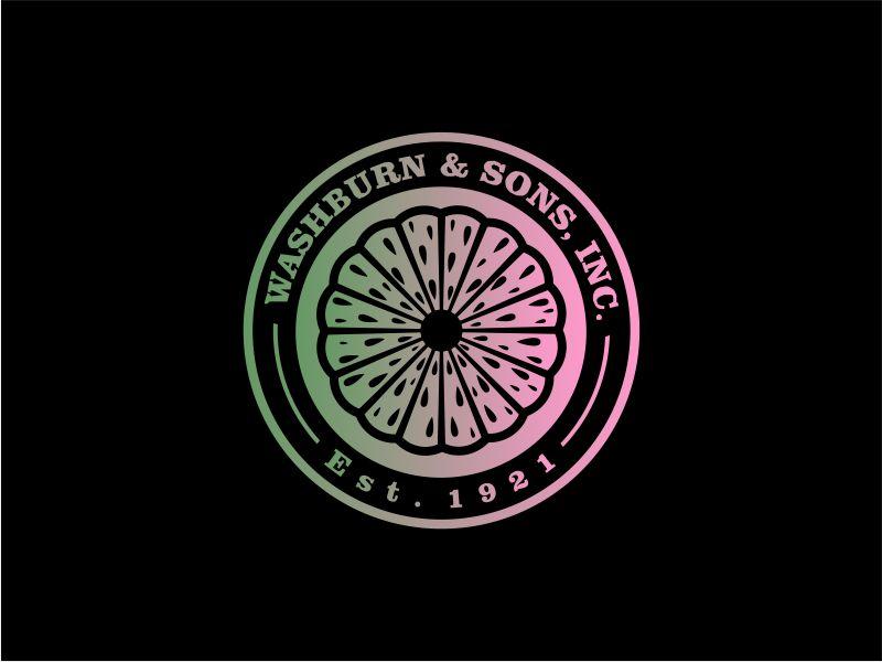 Washburn & Sons, Inc. logo design by rdbentar
