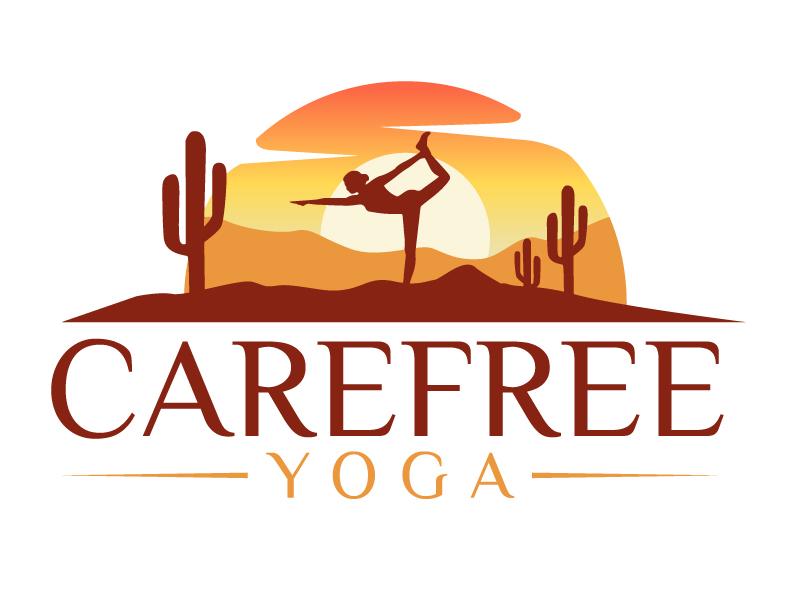 Carefree Yoga logo design by jaize