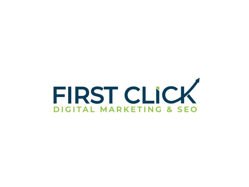 First Click Digital Marketing & SEO logo design by leduy87qn